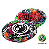 OPTIMUM Street II Pelota de Rugby, Hombre, Multicolor, Tamaño 3