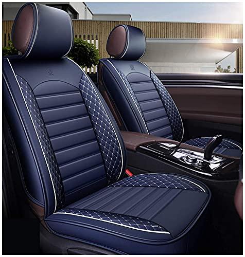 Coprisedili per auto Custom compatibili per Jeep Wrangler Universale in finta pelle Anteriore posteriore Auto Set completo di 5 posti Cuscino protettore Cuscino per seggiolino auto Airbag compatibile