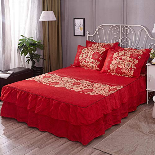 GTWOZNB Non Iron Soft Poly-Cotton Plain Dyed Flat Bed Sheet Single, King Available All-inclusive bed sheet bed skirt-2_1.2 * 2m