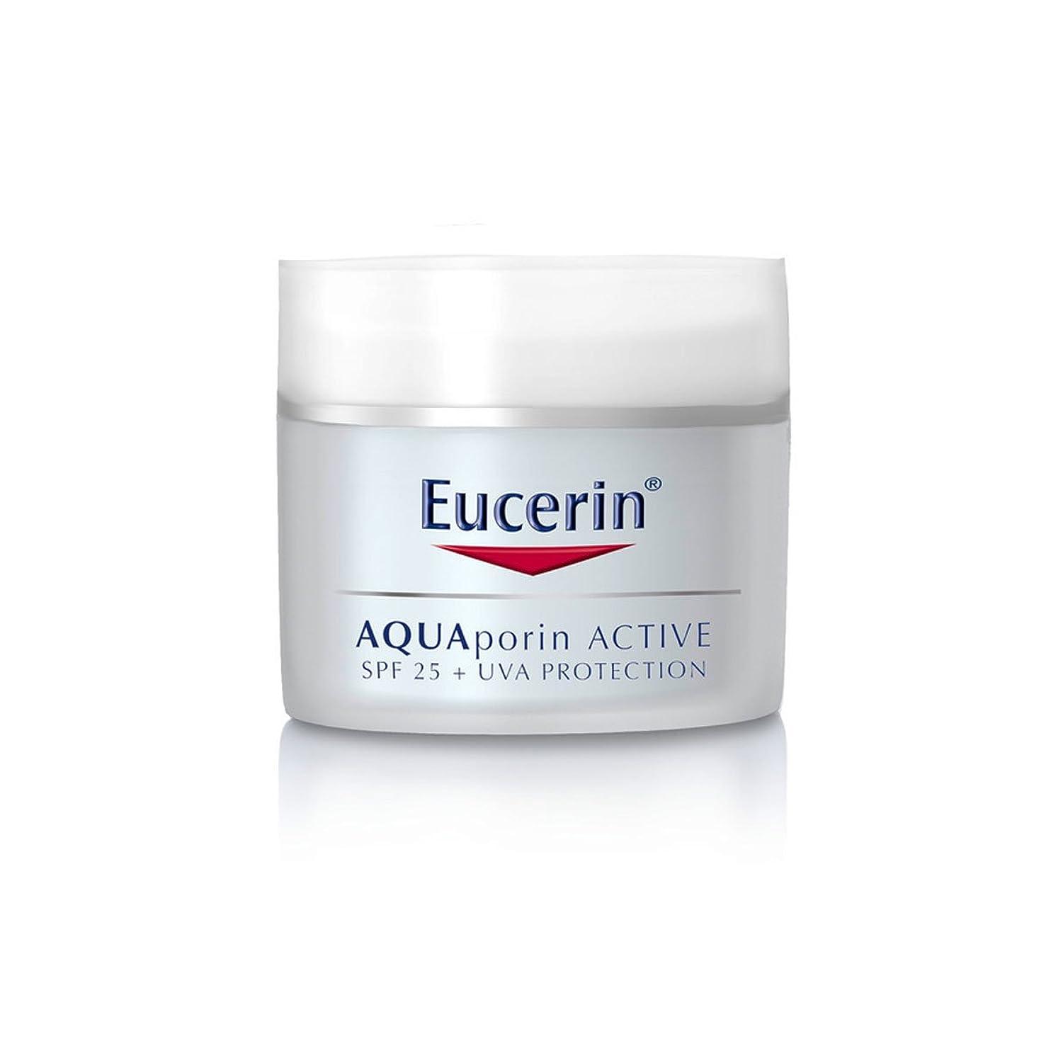適合しましたアフリカ哀Eucerin Aquaporin Active Spf25 50ml [並行輸入品]