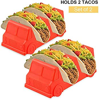 Set of 2 Taco Holder Stand Taco Truck Holds