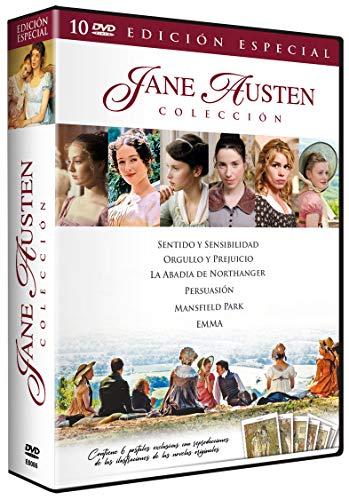 Pack Jane Austen - Contiene 6 Postales Vintage [DVD]