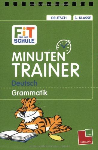 Minutentrainer - 3. Klasse Deutsch: Grammatik