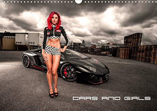 Cars and Girls (Wandkalender 2020 DIN A3 quer)