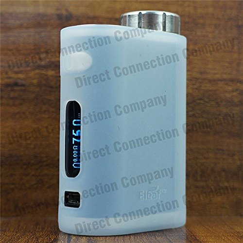 Silicone Case for eLeaf iStick PICO 75W TC Skin Sleeve Cover Wrap (Clear Opaque)