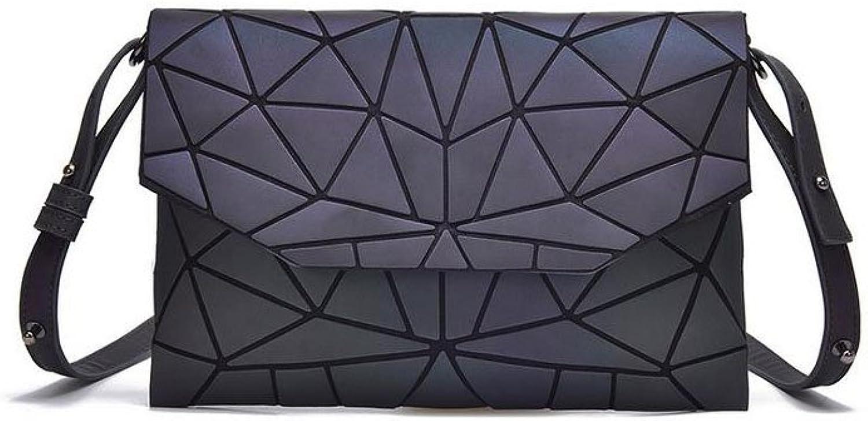 Mdchen Damen Laser Make-up Taschen Damenmode Geometrische Tasche Personalisierte Schulter Handtasche Tasche