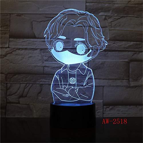Kinder Geschenk Nachtlicht Anime Charakter Tischlampe kühlen Jungen Schlafzimmer Dekoration Schlaf Licht