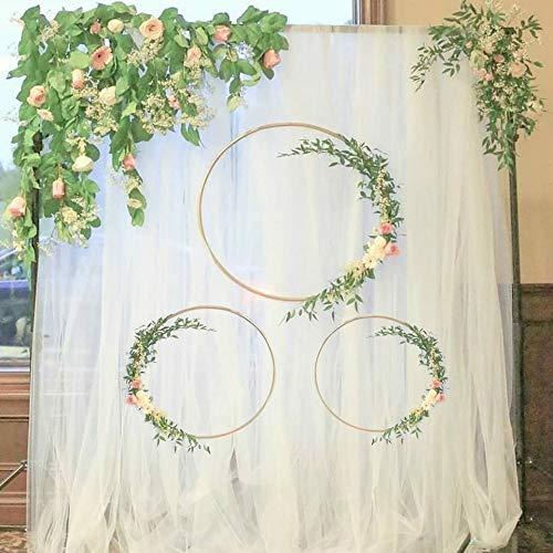 Ltjqsm Nuevo Eid Mubarak Decoración de la Luna Estrellas de la Luna DIY Colgante Colgante Floya Floya Flor Anillo Día Decoración de la Fiesta (Color : 1set Ramadan Banner)