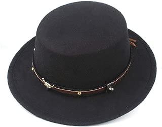 2019 Mens Womens Hats Unisex Men Women Flat Top Hat Autumn Pop Church Travel Hat Fascinator Tassel Pork Pie Hat Wool Jazz Casual Wide Brim Hat Panama Jazz Hat Wool Fascinator