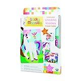 ORB 51044 Sticky Mosaics Travel Pack Unicorns, Multi