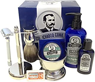 Colonel Conk Complete 8-Piece Shave Kit by Colonel Conk