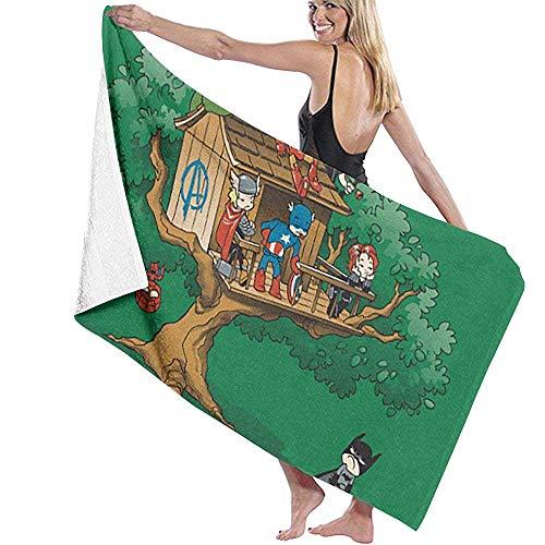 Lfff Absorbente Ligero súper Exclusivo Club Soft para baño Piscina Yoga Pilates Manta de Picnic Toallas de Microfibra 80cm * 130cm