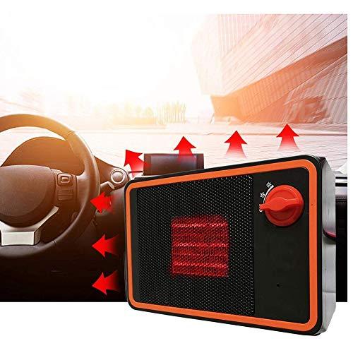 Xiaojie El calentador de coche es adecuado para 24V-350W desempañar y descongelar calentador eléctrico silencioso