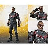 Bosi General Merchandise Vengadores, Falcon, Figuras de acción, PVC, Juguetes en Miniatura, Decoraciones Creativas