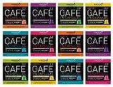 Viaggio Espresso Cápsulas de café compatibles con máquinas Nespresso Selección clásica (120...