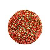 Bola Artificial De La Planta Simulación De Boj Decorativa Bola De Hierba Verde De Plástico Globo Verde Rose Grass Ball para El Centro Comercial De La Boda Decoración,20cm