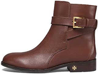 Tory Burch Brooke Leather Ankle Bootie, Perfect Brown