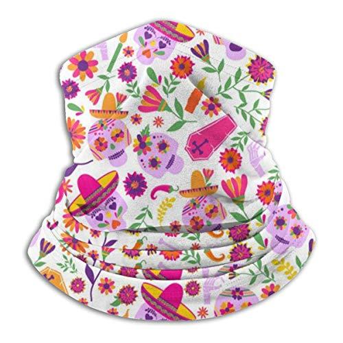 Dia De Los Muertos haarband voor het haar, bandana, om te wikkelen, halsdoek, bivakmuts, voor sport