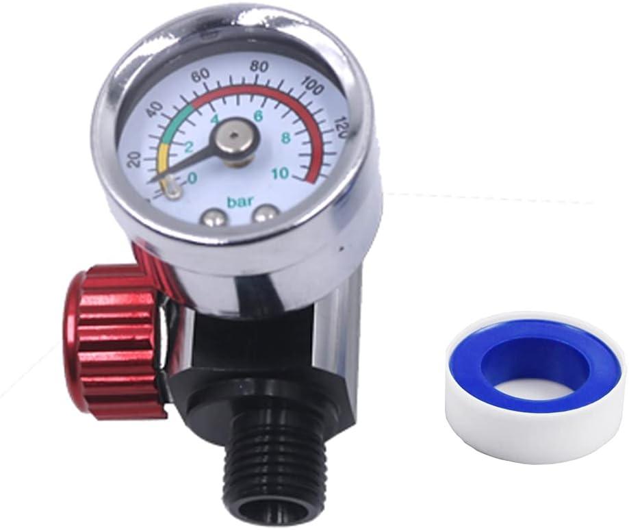 Air Compressor Regulator 1 4 Overseas parallel import regular item NPT. Financial sales sale 0-150 A Pressure PSI Gauge