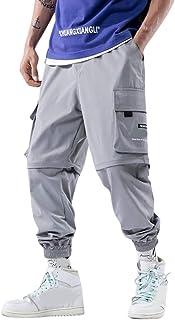 comprar comparacion Subfamily Costuras para Hombres, Cinco Pantalones Desmontables y Dos Monos, Estilo Que Empalma Los Pantalones Desmontables...