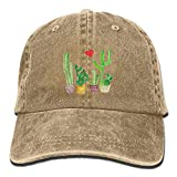 SKAY Cacti Cactus Love Artical Unisex Adult Adjustable Leisure Dad Cap