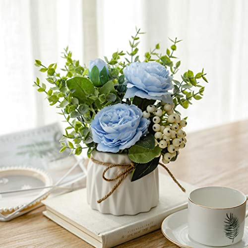 Kunstbloemplanten, Nepplanten Voor Kantoor- Of Woonaccessoires, Desktop-vensterbank Bonsai Potten Cadeau Voor Tuinman Bruiloft Verjaardag Kerstmis