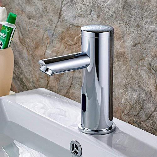 BFGJH Grifo automático con Sensor de Infrarrojos Inducción Baño Faucet Ahorro Ahorro Agua Agua Agua CROME Agua FRÍO