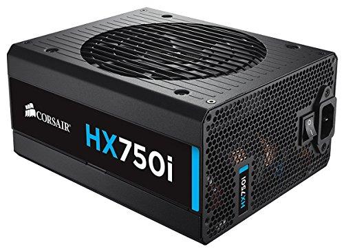 Corsair HX750i PC-Netzteil (Voll-Modulares Kabelmanagement, 80 Plus Platinum, 750 Watt, EU)