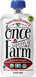 Once Upon a Farm Mama Bear Blueberry (Stage 2 Organic Baby Food), 3.2 oz