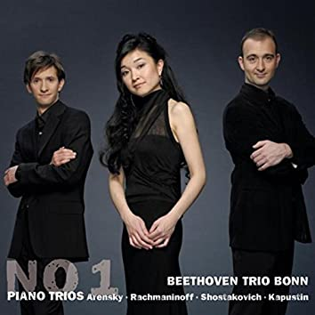 Arensky & Rachmaninoff & Shostakovich & Kapustin: No. 1 Piano Trios