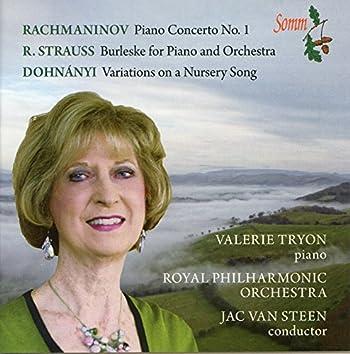 Rachmaninov, Strauss & Dohnányi: Works for Piano & Orchestra