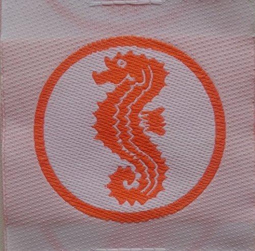 Grevinga® Frühschwimmer Stoffabzeichen (Seepferdchen)