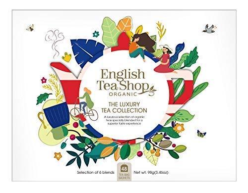English Tea Shop Selezione di tisane biologiche e alle erbe con gusti classici Made in Sri Lanka - 1 x 48 bustine di tè (98 grammi)