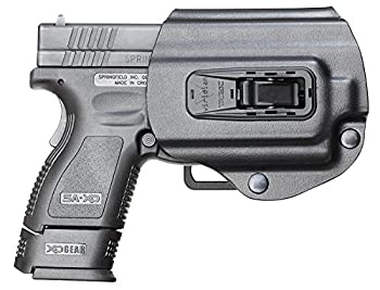 Viridian Weapon Technologies  950-0017  TacLoc Holster Built for Springfield XD/XDm 9/40/45 with Viridian X5L Series Black