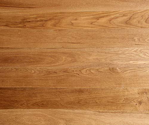 HORI® Klick Parkett 400 Dielenboden Parkettboden Eiche Country gebürstet Landhausdiele 1-Stab mit Fase natur-geölt I Eiche I 8 Dielen im Paket = 1,89 m²