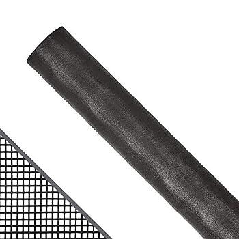 ADFORS 36 in x 100 ft DIY Fiberglass Window Screen Replacement || Screen Door || Screen Repair Kit || Adjustable Window Screen || Bug Screen || Screen Mesh || Insect Screen Material || Charcoal