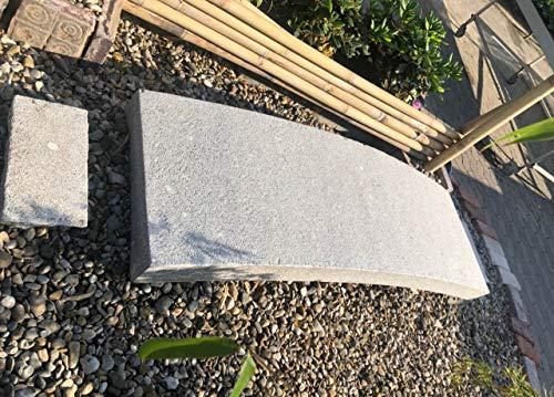 Pont de jardin en provenance de Chine (190 cm) en granit d'Asie, décoration de jardin