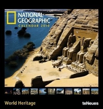 National Geographic UNESCO World Heritage 2010. Fotokalender