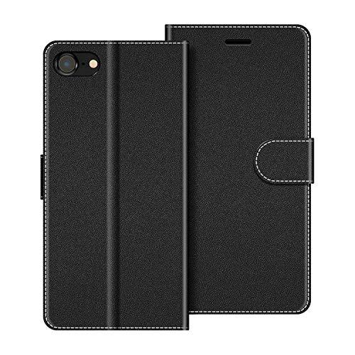 cover a portafoglio iphone 7 COODIO Custodia per iPhone SE 2020