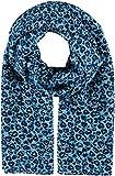 FRAAS Giorgio Rimaldi - Bufanda para mujer con estampado de corazones - 70 x 155 cm - bufanda ligera y de alta calidad - perfecta para primavera y verano azul claro Talla única