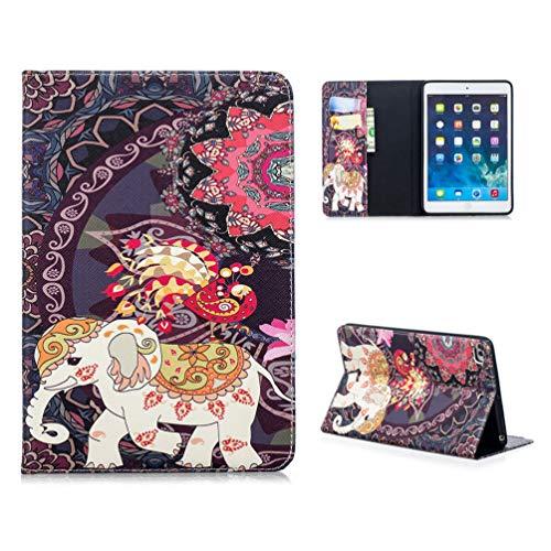 Smart Case voor iPad mini 5 2019, Schokbestendig PU-leer Meerdere hoeken Stand Smart Protective Cover met Auto Sleep Wake voor Apple iPad Mini 5/ Mini 4 7.9 Inch Tablet 3