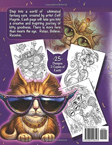 Whimsical Fantasy Cats steampunk buy now online