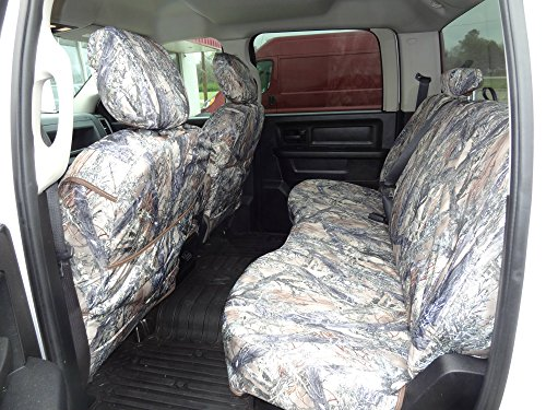 Durafit Seat Covers, DG29 MC2 C, Seat Covers Made in MC2 Camo Endura for 2013-2019 Dodge Ram Crew Cab Front and Back Seat Set.