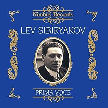 Lev Sibiryakov (Recorded 1907 - 1913)