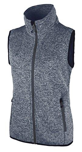CMP fleece vest met capuchon voor dames