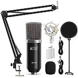 USB Microphone Kit 192KHZ/24BIT with Aluminum...