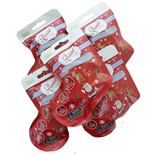 TEAM Rudolph REIN2 Rudolph Le Renne au Nez Rouge Mini Figuri