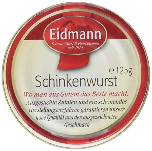 Eidmann Schinkenwurst, 12er Pack (12 x 125 g)