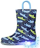 Outee Toddler Kids Adorable Printed Light Up Rain...