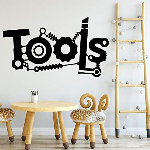 Wopiaol creatieve gereedschappen vinyl muurstickers muurdecoratie voor kinderkamer decoratie waterdichte muurkunst stickers muurschilderingen muur tafel
